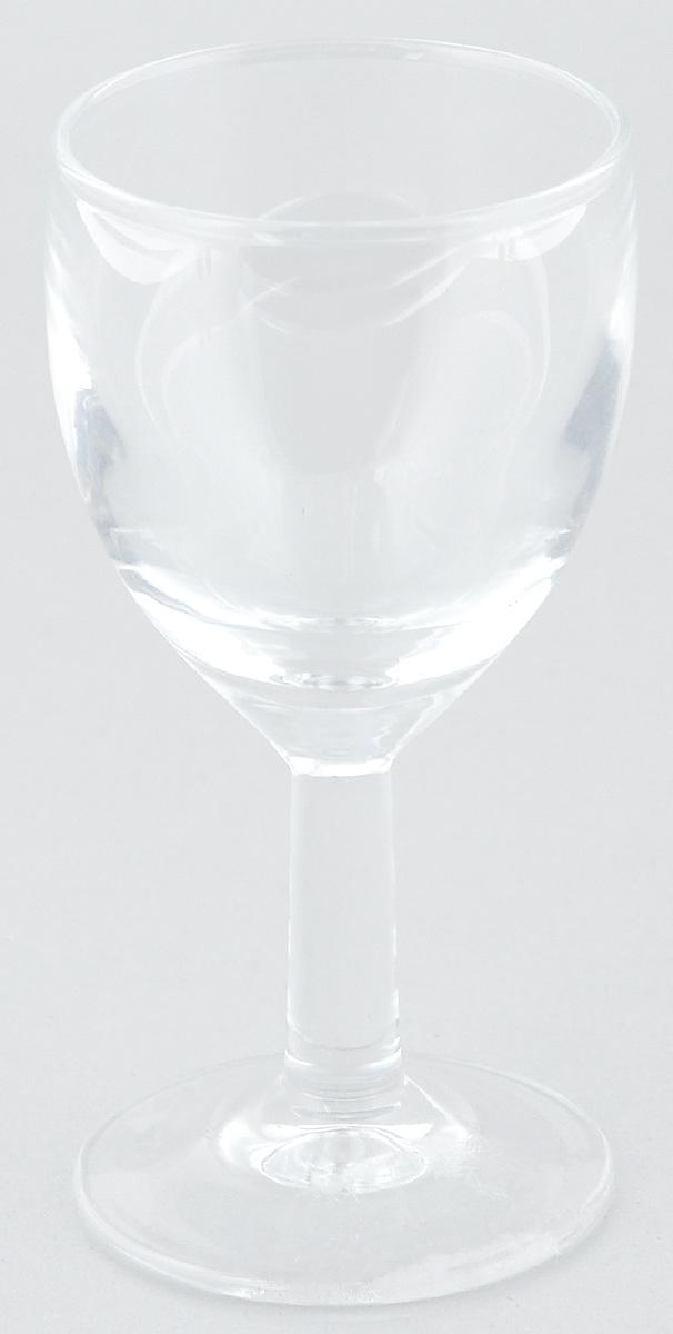 Рюмка ОСЗ Патио, 50 мл12с1633Рюмка ОСЗ Патио изготовлена из бесцветного стекла. Идеально подходит для крепких спиртных напитков. Такая рюмка станет отличным дополнением сервировки стола.Диаметр рюмки (по верхнему краю): 4,5 см. Высота рюмки: 9,5 см.