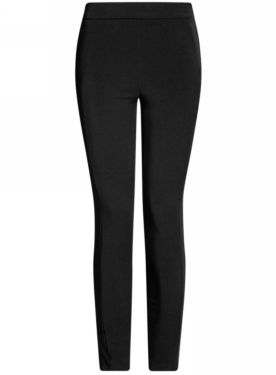 Брюки женские oodji Ultra, цвет: черный. 11707115/46349/2900N. Размер 34 (40-170) пуловеры oodji пуловер