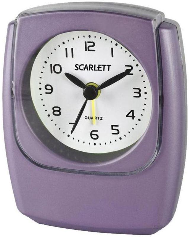 Scarlett SC-802 будильник электронныйSC-802Будильник Scarlett SC-802 имеет надежный часовой механизм и яркий цвет корпуса. Данная модель имеет встроенную функцию подсветки. Сигнал будильника работает до его выключения.