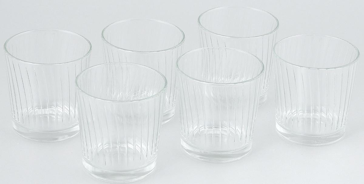Набор стаканов ОСЗ Тропик, 250 мл, 6 шт05с1265 УНабор ОСЗ Тропик состоит из шести низких стаканов, выполненных из прочного натрий-кальций-силикатного стекла. Изделия выполнены в классическом дизайне. Внутренние стенки дополнены рельефом.Такой набор прекрасно подойдет для воды, сока, молока, лимонада и других напитков. Он дополнит кухонный интерьер и станет практичным приобретением. Диаметр стакана (по верхнему краю): 8 см. Высота стакана: 8 см.