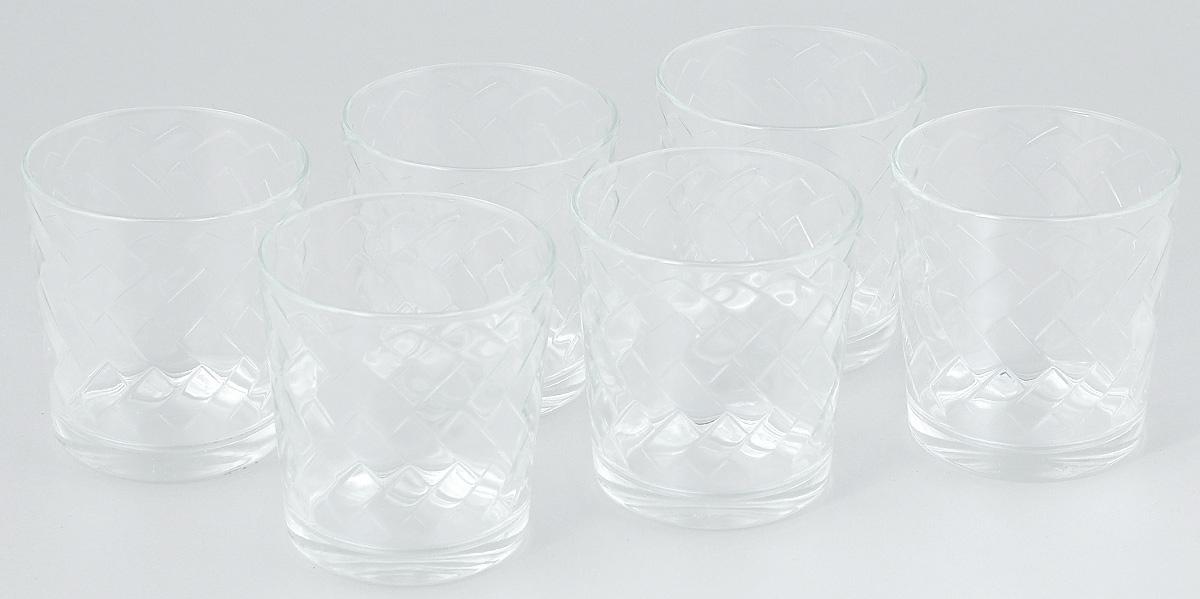 Набор стаканов ОСЗ Этюд, 250 мл, 6 шт05с1243 УНабор ОСЗ Этюд состоит из шести низких стаканов, выполненных из прочного натрий-кальций-силикатного стекла. Изделия выполнены в классическом дизайне. Внутренние стенки дополнены оригинальным рельефом.Такой набор прекрасно подойдет для воды, сока, молока, лимонада и других напитков. Он дополнит кухонный интерьер и станет практичным приобретением. Диаметр стакана (по верхнему краю): 8 см. Высота стакана: 8 см.