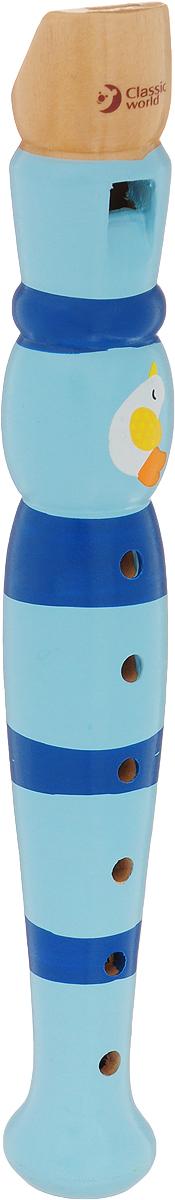 Classic World Дудочка Музыка лета цвет голубой синий кольца ювелирная бижутерия mademoiselle jolie paris кольцо isabelle с медовыми кристаллами swarovski