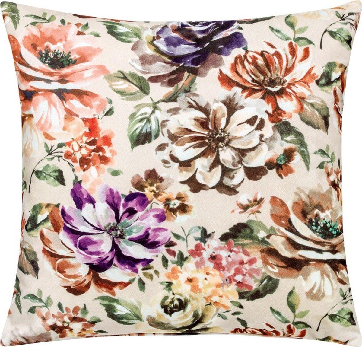 Подушка декоративная Togas Лена, цвет: белый, 45 х 45 см40.16.70.0278