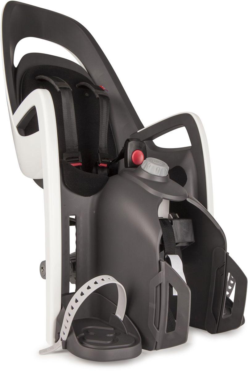 Детское велокресло Hamax Caress W/Carrier Adapter, цвет: серый, белый, черный553011Детское кресло, которое можно установить на велосипед с рамой 28-40 ммАдаптер для установки в комплектеМожет быть установлен на электровелосипедВес ребенка: не более 25-30 кг. Рост ребенка: 120-180смЕсть положение сонДиаметр труб: 10-20 ммПростой монтаж