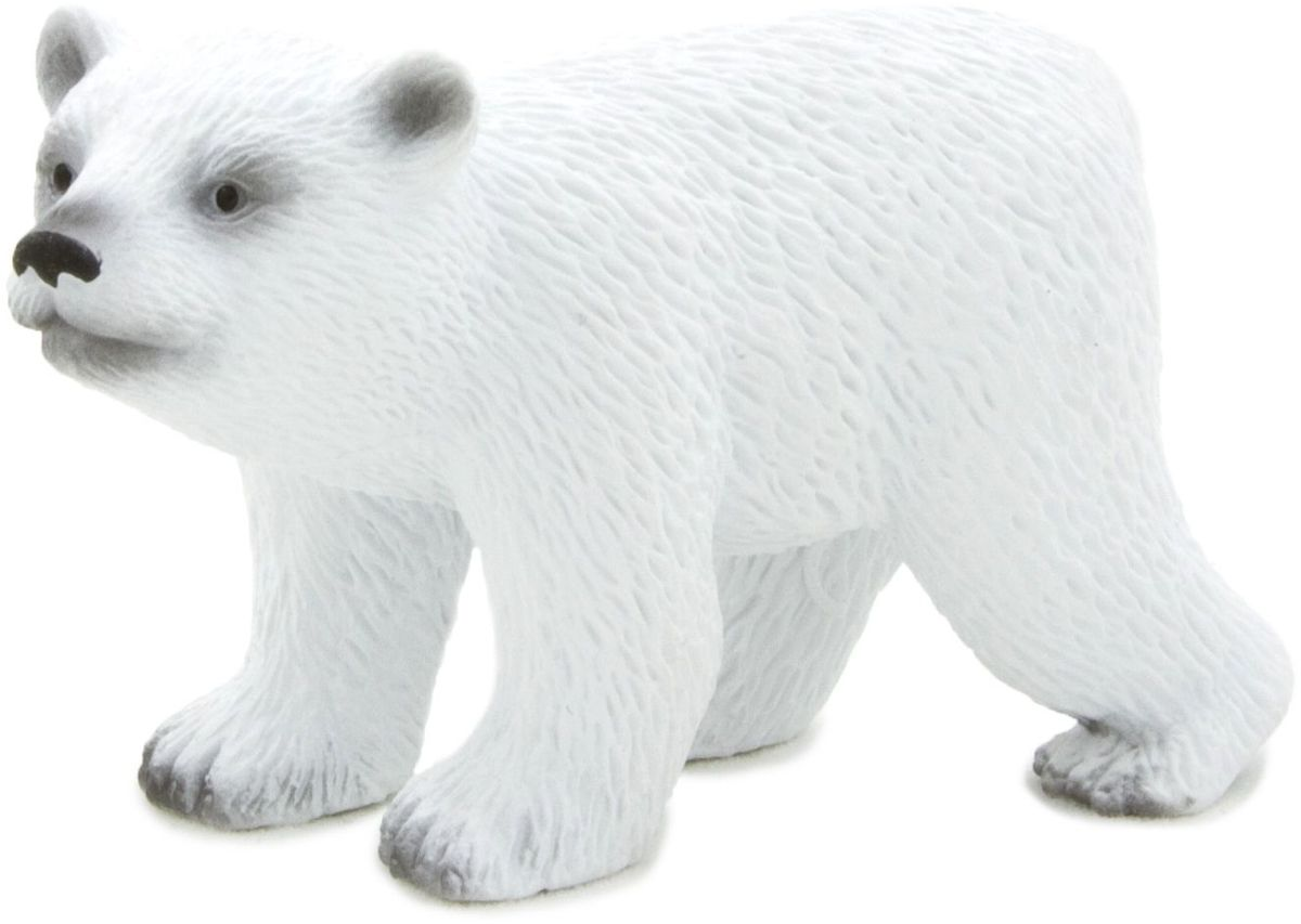Mojo Фигурка Белый полярный медвежонок в движении mojo фигурка белый полярный медвежонок в движении
