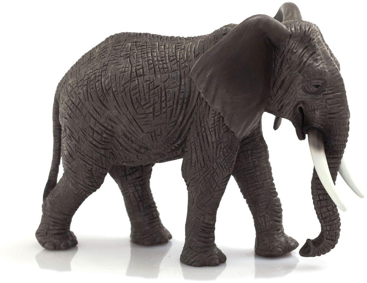 Mojo Фигурка Африканский слон 387189 mojo фигурка белый полярный медвежонок в движении