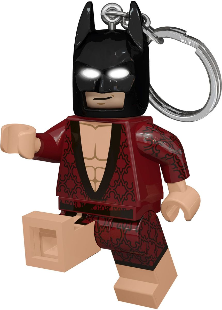 LEGO Batman Movie Брелок-фонарик Kimono Batman lego lego брелок для ключей джестро