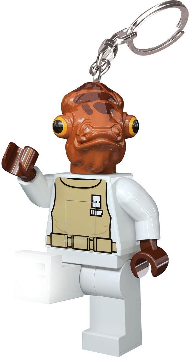 LEGO Star Wars Брелок-фонарик Admiral Ackbar lego star wars брелок фонарик капитан фазма