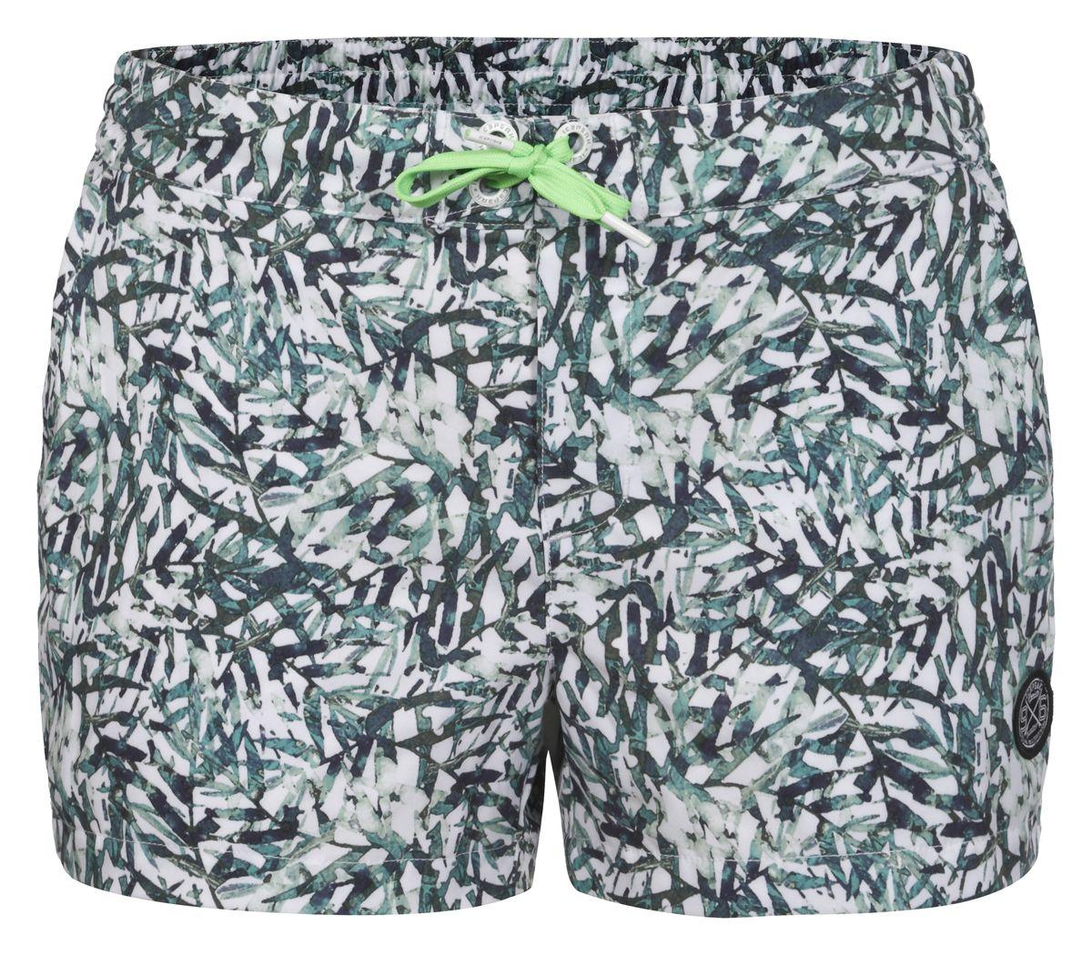 Шорты для плавания женские Icepeak Manon, цвет: зеленый, белый. 754528622IV. Размер 36 (42)