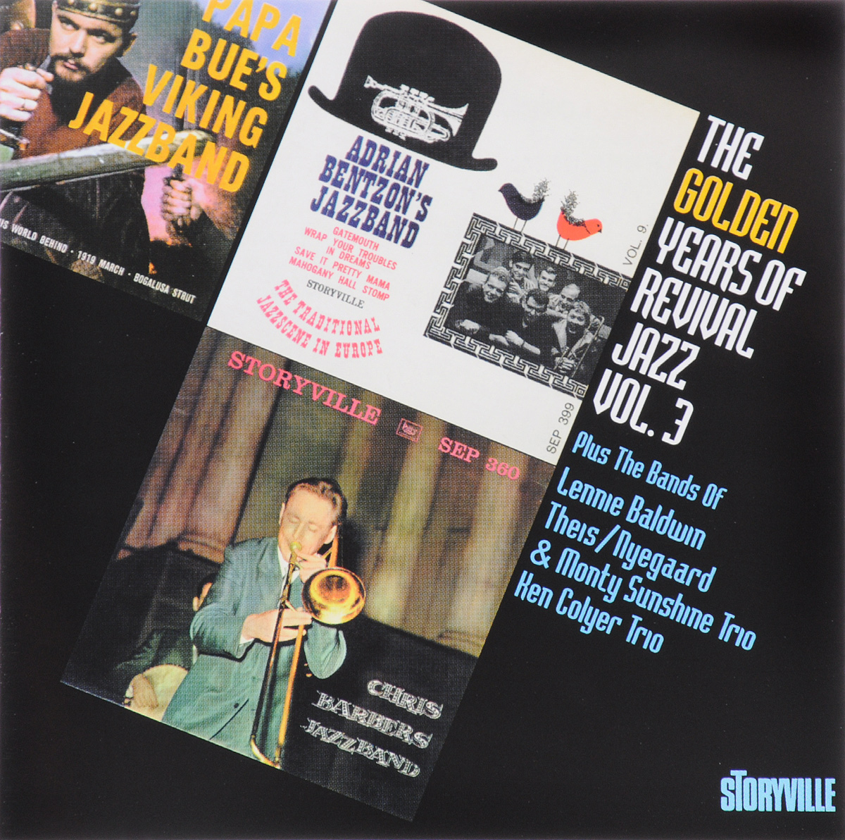 The Golden Years Of Revival Jazz. Vol. 3 4 pack 30xl 30 xl black