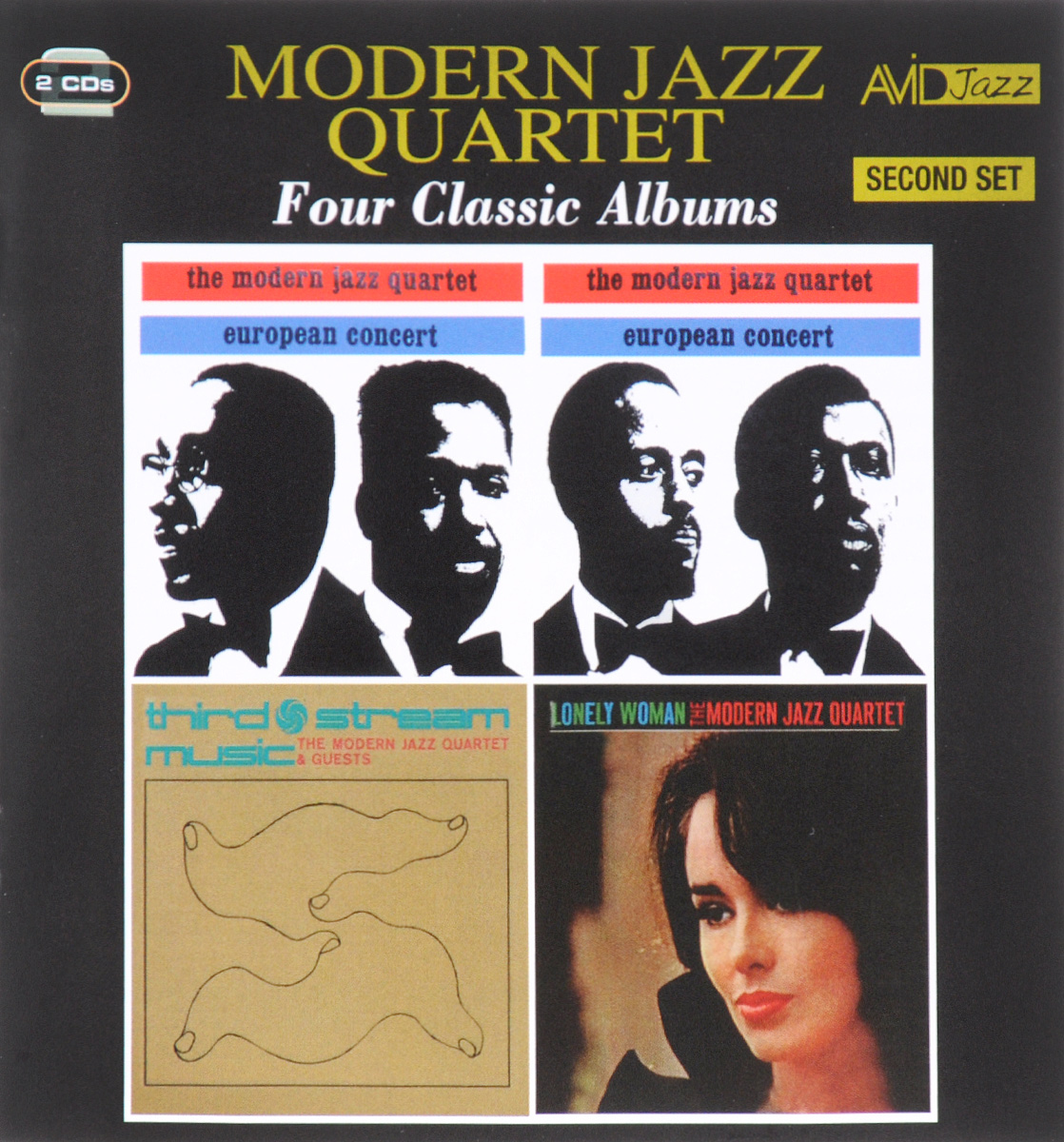 The Modern Jazz Quartet,The Guests Avid Jazz. Modern Jazz Quartet. Four Classic Albums. Second Set (2 CD) the jazz cafe 3 cd