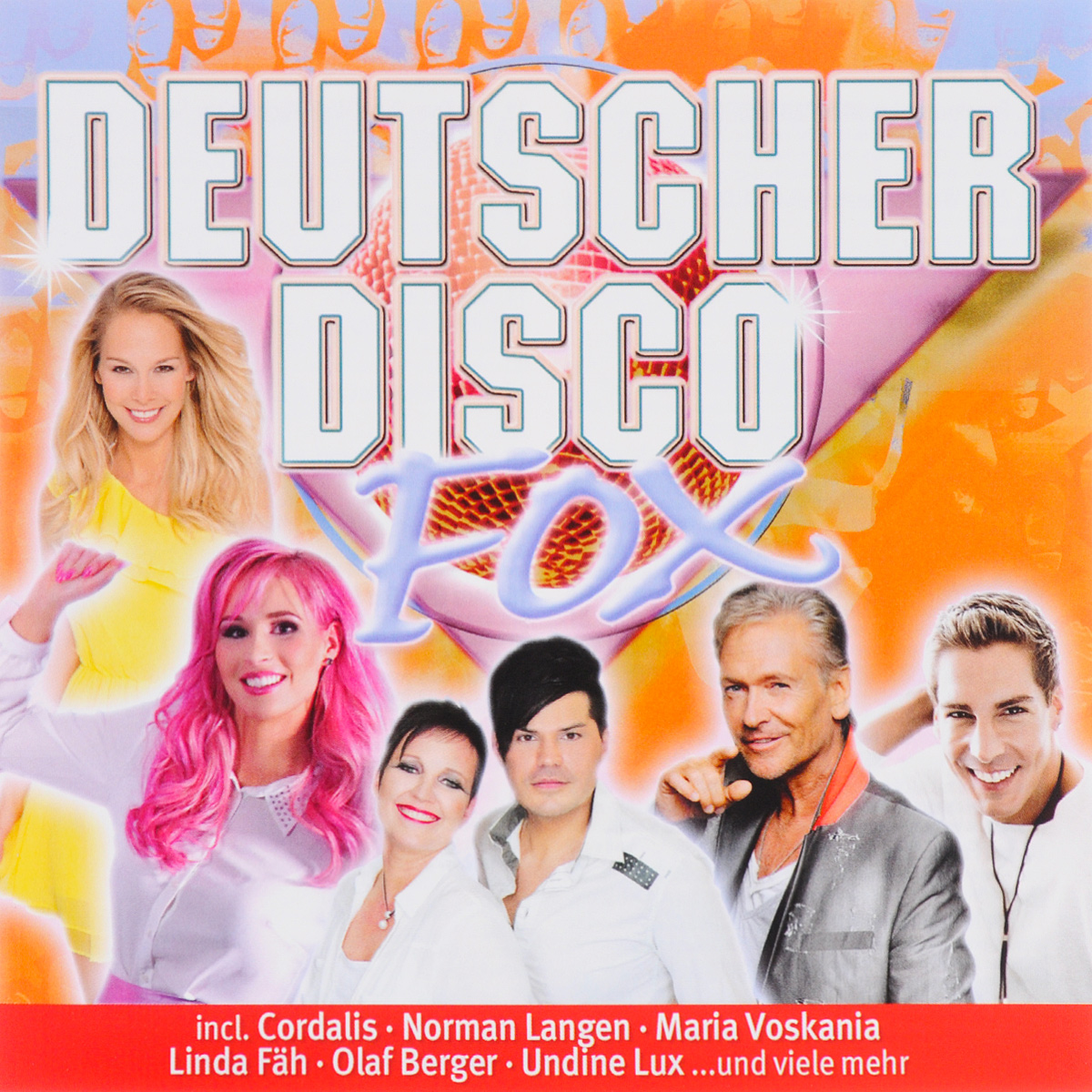 Norman Langen,Undine Lux,Denny Fabian,Nico Gemba,Jorg Bausch,Annemarie Eilfeld,Linda Fah,Cordalis,Anni Perka,G.G. Anderson Deutscher Disco Fox 2017 (2 CD) annemarie borlind тени для век светло розовый annemarie borlind makeup light rose 48 150948 2 г