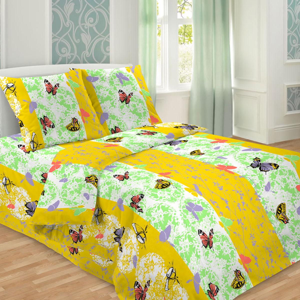 Комплект белья Letto Традиция, 1,5-спальный, наволочки 70x70, цвет: желтый. В214-3В214-3Комплект постельного белья Letto с фирменным оригинальным дизайном выполнен из бязи. Благодаря такому комплекту постельного белья вы сможете создать атмосферу уюта и комфорта в вашей спальне.