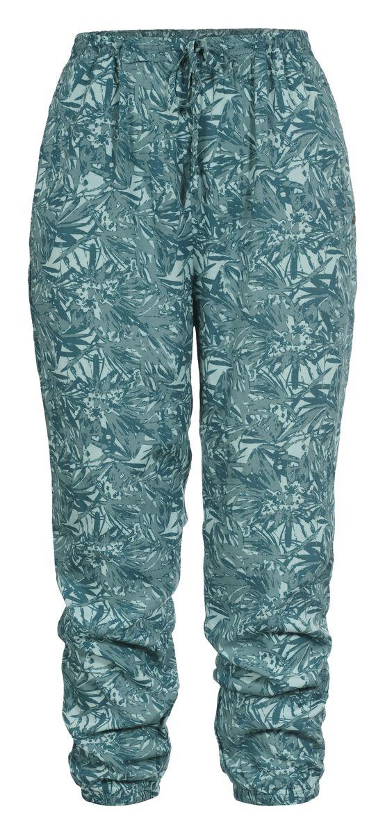 Брюки женские Luhta, цвет: зеленый. 737741333LV. Размер 34 (42)737741333LVСтильные женские брюки Luhta выполнены из высококачественного материала. Модель стандартной посадки в талии дополнена эластичной резинкой и шнурком.