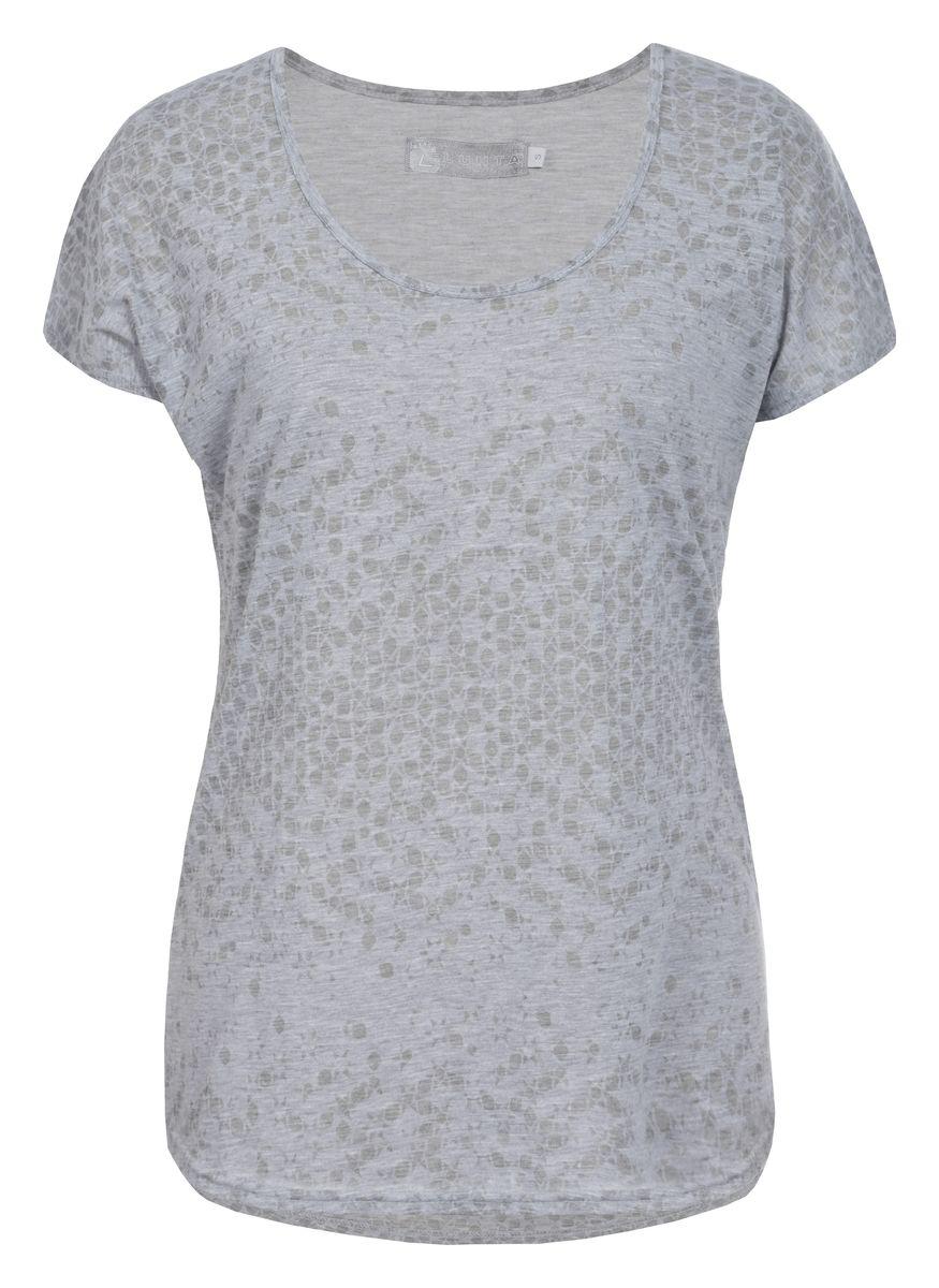 Футболка женская Luhta, цвет: серый. 737278325LV. Размер XL (50) футболка женская diesel цвет черный 00srtx 0qaml размер xl 50
