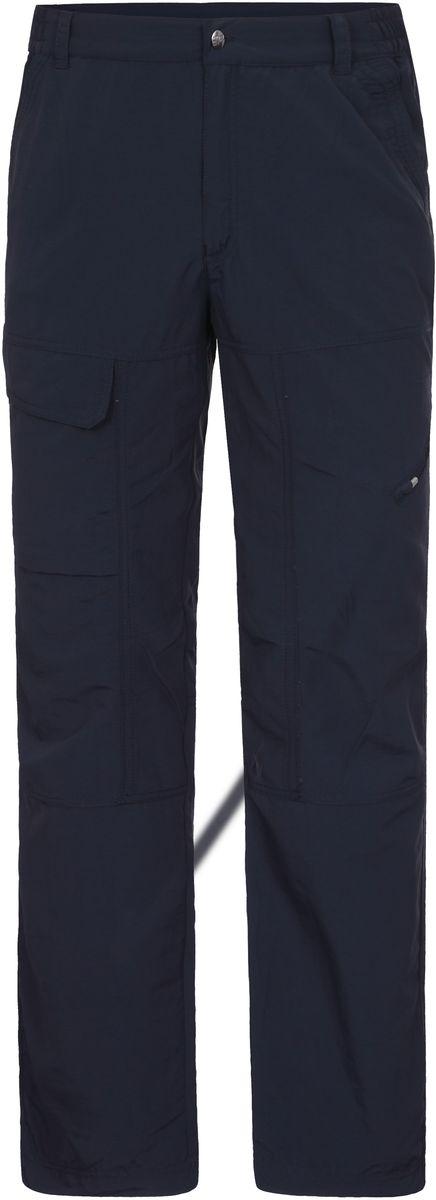 Брюки мужские Icepeak, цвет: темно-синий. 757021574IV_390. Размер 50757021574IV_390Мужские брюки от Icepeak, выполненные из высококачественного материала, в поясе застегиваются на пуговицу и ширинку на молнии, имеются шлевки для ремня. По бокам втачные карманы. Отлично подойдут для повседневного гардероба.