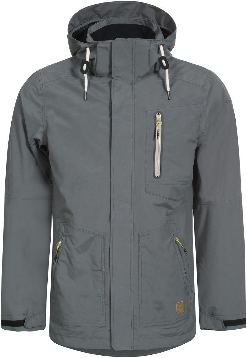 Куртка мужская Icepeak Eddie, цвет: серый. 756110515IV_569. Размер 48