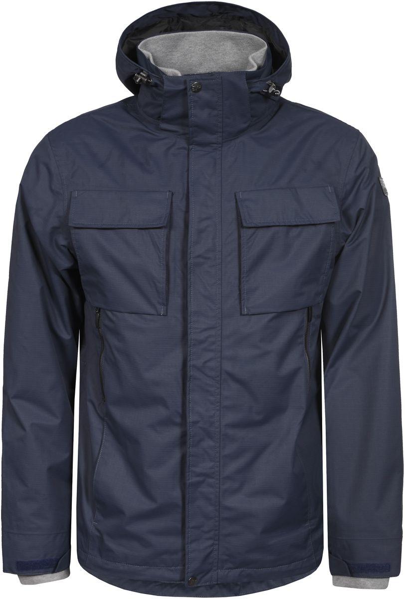 Куртка мужская Icepeak, цвет: темно-синий. 756013520IV_345. Размер L (52) куртка мужская fresh brand цвет темно синий h3 df071 night blue размер l 50