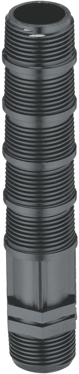 Удлинитель дождевателя Gardena, резьба 3/402743-20.000.00Удлинитель дождевателя Gardena предназначен для углубления труб и дождевателей. На обоих концах имеет резьбу G3/4. Изготовлен из качественного материала, имеет длительный период эксплуатации.