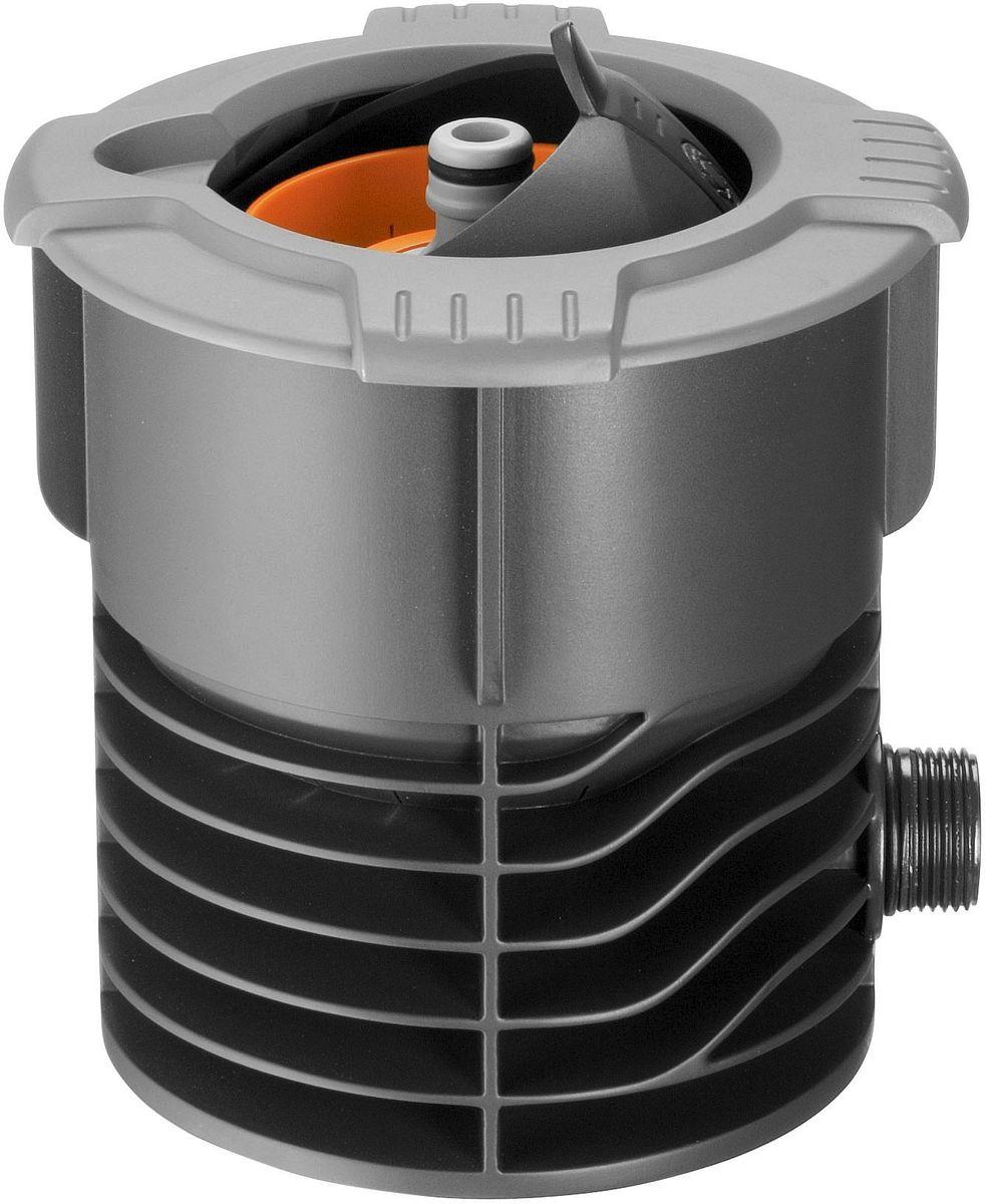 Водозаборная колонка Gardena. 08250-20.000.0008250-20.000.00Практичная водозаборная колонка Gardena позволяет получать воду так же, как мы получаем электричество из сети. К колонке, установленной под землю, вода поступает через магистральный шланг Gardena. После подсоединения садового шланга к водозаборной колонке с автоматическим стопорным клапаном можно приступать к поливу. При отсоединении шланга подача воды автоматически прекращается. Колонка защищена крышкой, которая предотвращает попадание посторонних предметов в то время, когда колонка не используется. При открытии такая выдвижная крышка сферической формы скрывается внутри колонки, обеспечивая возможность ухаживать за газоном, не встречая при этом никаких препятствий. Съемный фильтр предотвращает проникновение посторонних предметов в колонку при открытой крышке. Колонка снабжена наружной резьбой 3/4 дюйма.