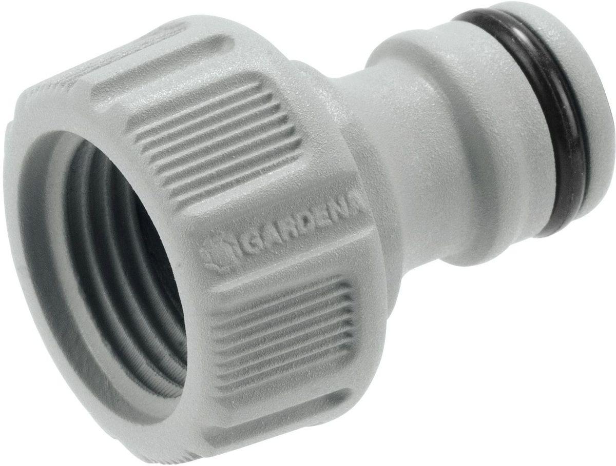 Штуцер Gardena, резьбовой, 1/208169-20.000.00Штуцер Gardena предназначен для соединения с резьбовыми кранами. Он легко устанавливается и не требует использования инструментов. Подходит для кранов диаметром 16,7 мм (G 3/8) с резьбой 21мм ( G 1/2).
