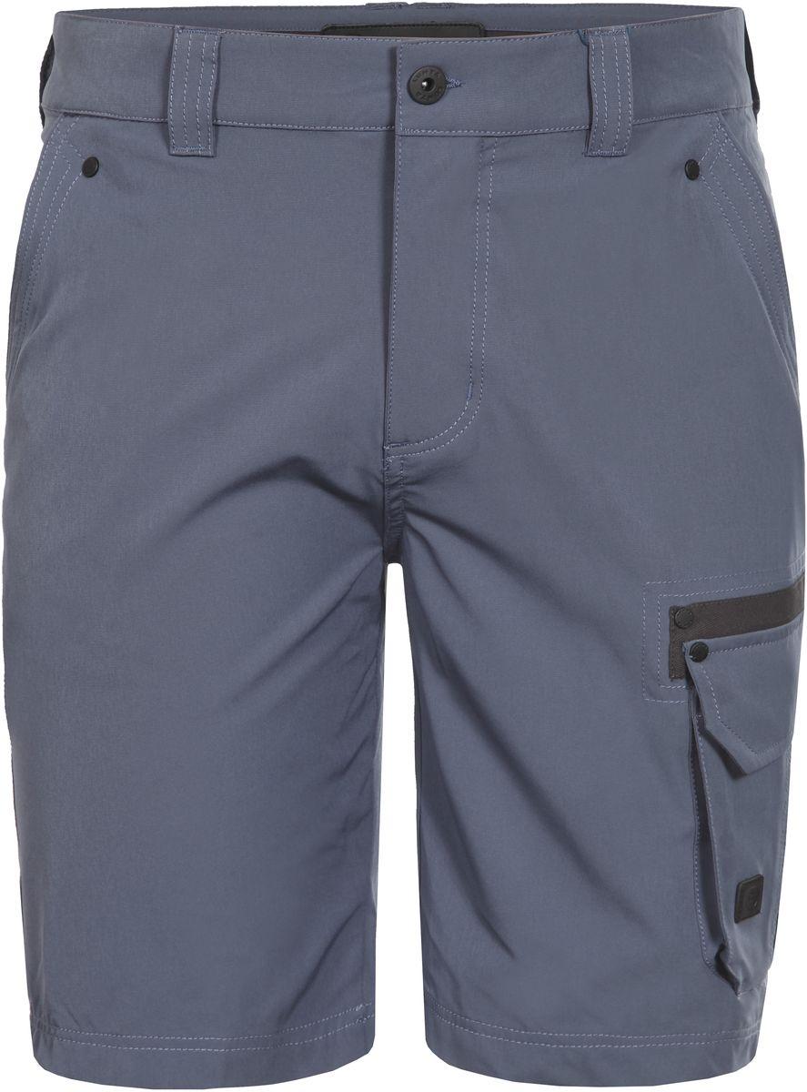 Шорты мужские Luhta, цвет: синий. 737845595LVT. Размер 48737845595LVTСтильные мужские шорты Luhta выполнены из высококачественного материала. Модель стандартной посадки застегивается на пуговицу в поясе и ширинку на застежке-молнии. Пояс имеет шлевки для ремня. Спереди шорты дополнены втачными карманами. Сбоку дополнены накладным карманом с клапаном.