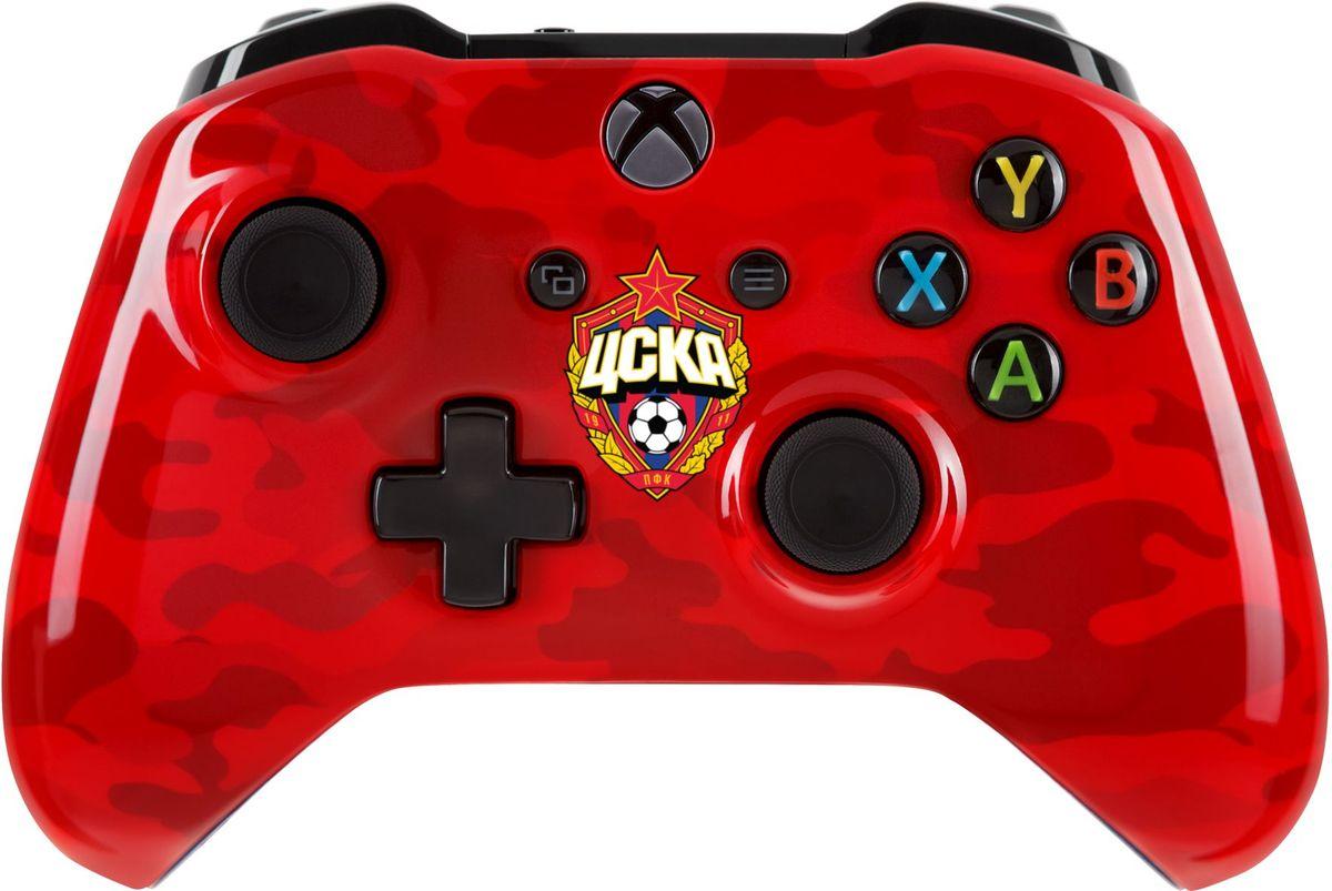 Xbox One ЦСКА Красно-армейский беспроводной геймпад xbox one барселона клубный беспроводной контроллер