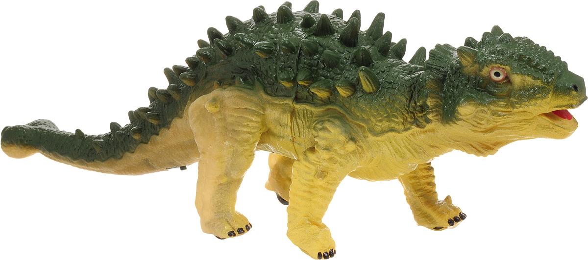 Amico Фигурка Мир динозавров Эуплоцефал цвет зеленый желтый фигурки игрушки amico динозавр ютораптор