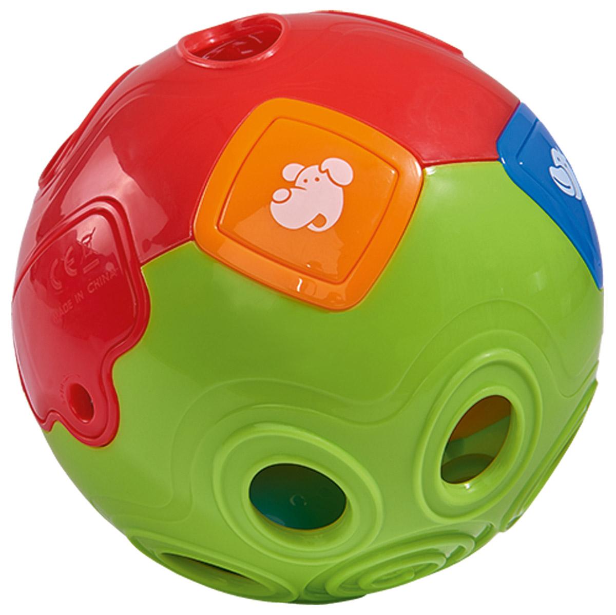 Simba Развивающая игрушка Шар цвет красный желтый зеленый