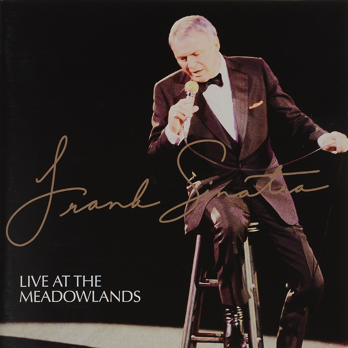 Фрэнк Синатра Frank Sinatra. Live At The Meadowlands cd frank sinatra the real