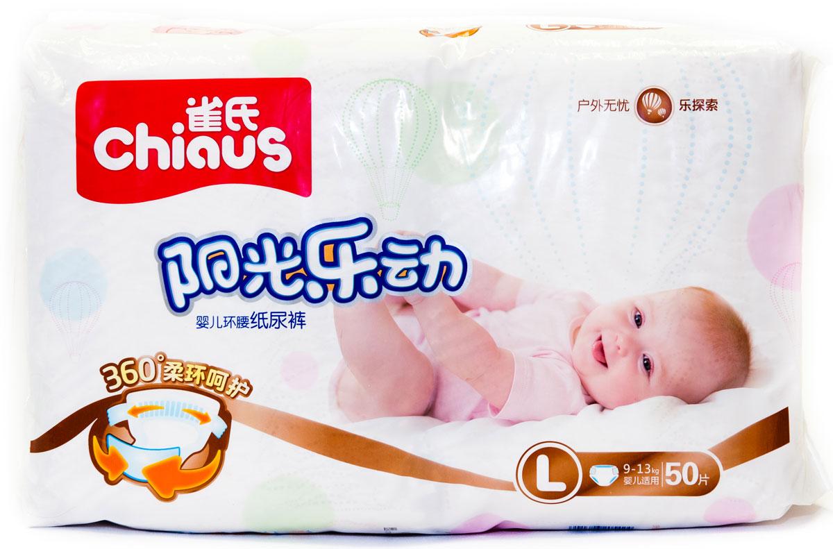 Chiaus Подгузники Premium L 9-13 кг 50 шт - Подгузники и пеленки