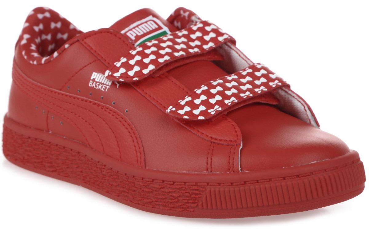 Кроссовки детские Puma Basket Elmo Mono V PS, цвет: красный. 36247401. Размер 2,5 (34) puma кроссовки drift cat 5 l bmw nu v ps