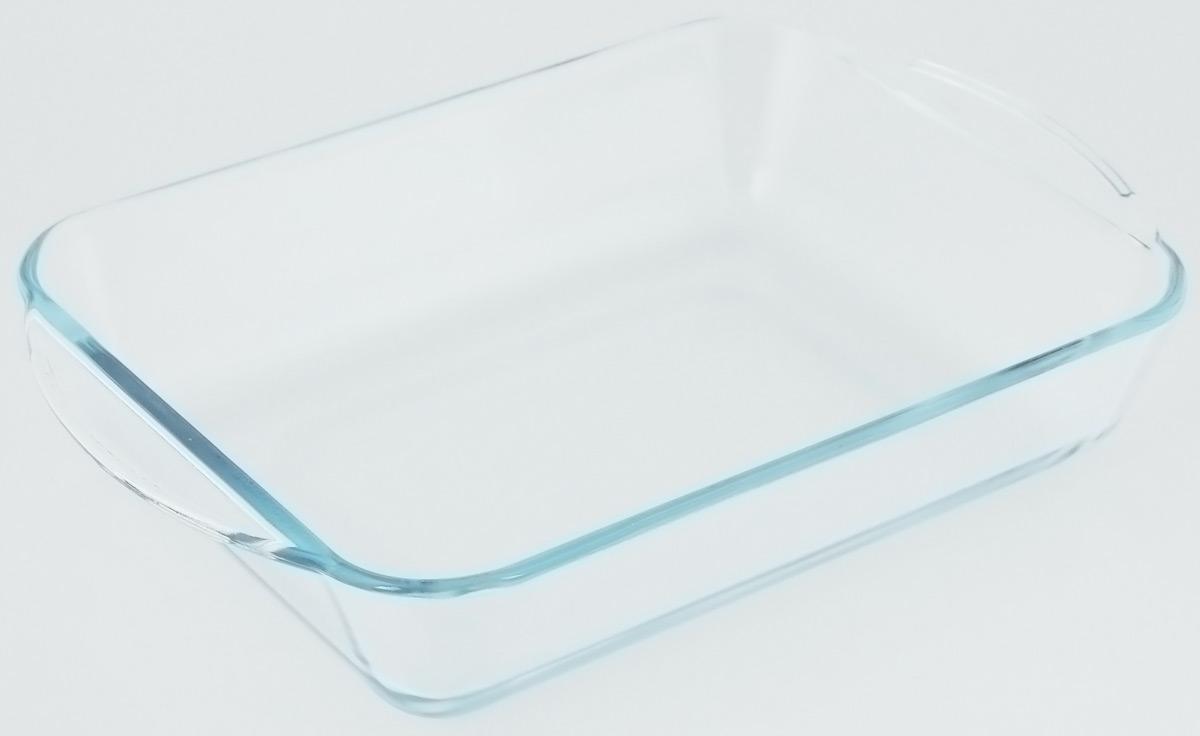 Форма для запекания VGP, прямоугольная, стеклянная, 31,5 х 21 х 6 см1839Форма для запекания VGP изготовлена из термостойкого, экологически чистого боросиликатного стекла. Изделие выдерживает температуру от -40°С до +300°С. Не содержит кадмия и свинца. Толстые стенки изделия позволяют пище готовиться быстро и равномерно.Форма предназначена для приготовления пищи в духовке, жарочном шкафу и микроволновой печи, пригодна для хранения и замораживания различных продуктов, а также для сервировки пищи.Внутренний размер формы: 26,5 х 20 х 5,5 см.