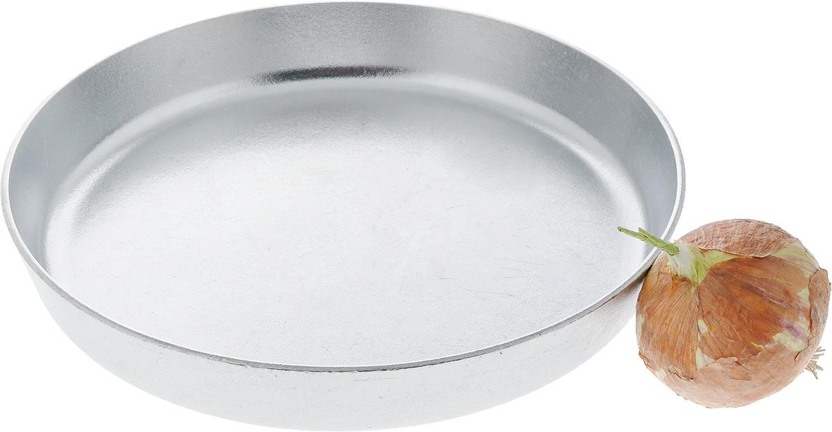 """Сковорода Алита """"Дарья"""" изготовлена из литого алюминия. Она идеально подходит для жарки мяса, запекания, тушения овощей, еда в такой посуде не пригорает, а томится как в русской печи. Толстостенная сковорода обеспечивает быстрое и равномерное распределение тепла по всей поверхности. Сковорода экологически безопасная и не подвергается деформации. Такая сковорода понравится как любителю, так и профессионалу. Сковорода подходит для использования на всех типах плит, кроме индукционных. Диаметр сковороды по верхнему краю: 28 см. Высота стенки: 4 см."""