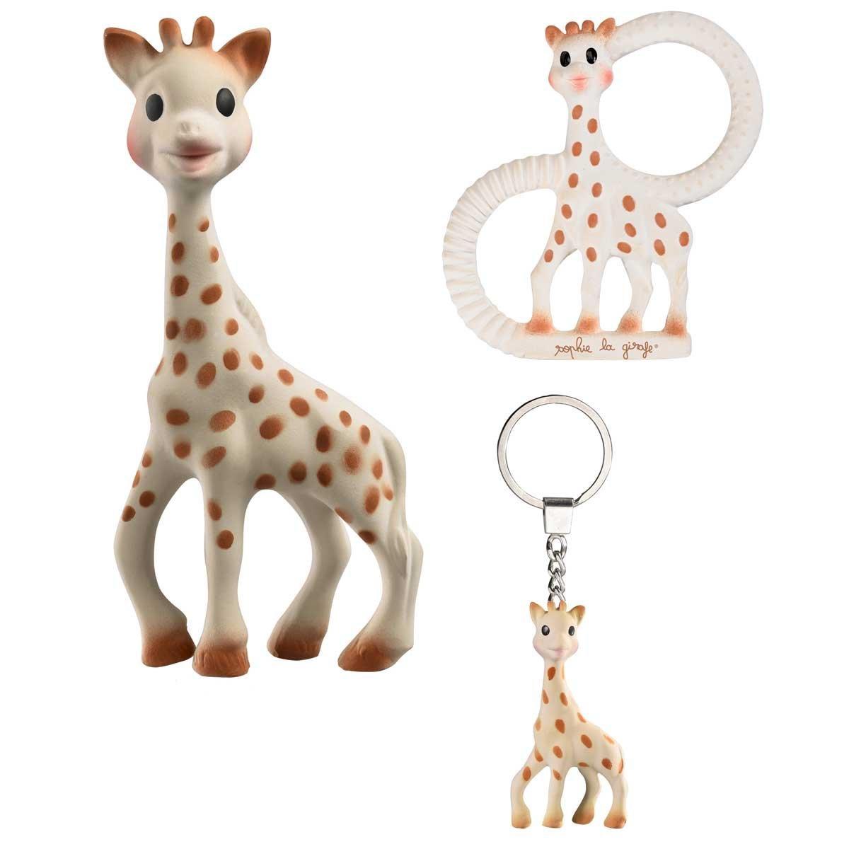 Vulli Набор игрушек-прорезывателей Жирафик Софи 3 в 1 - Все для детского кормления