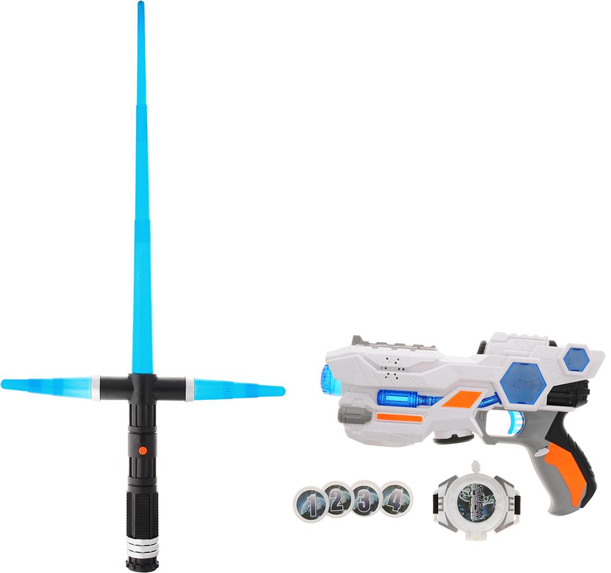 1TOY Набор игрушечного оружия Future Defender набор в мире животных 1toy