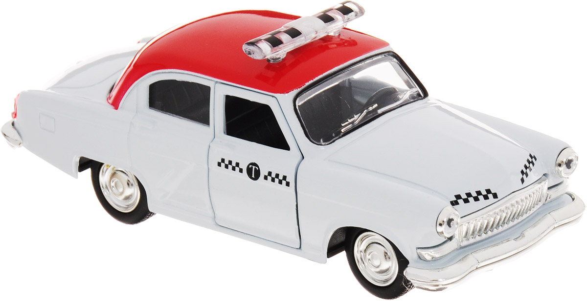Play Smart Машинка инерционная Такси машинка инерционная playsmart такси газ 21 1 43