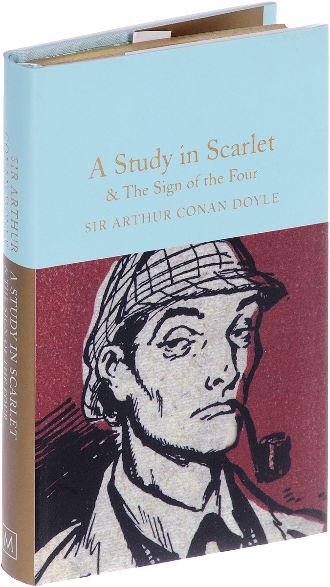 A Study in Scarlet and The Sign of the Four the scarlet letter