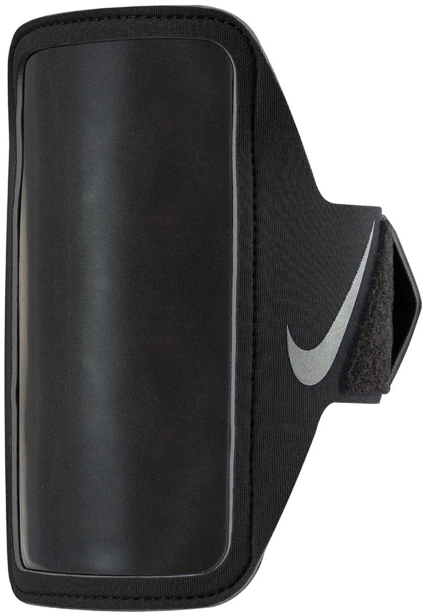Чехол для телефона на руку Nike Lean Arm Band, цвет: черныйGG-772Совместим практически со всеми смартфонами. Карман для устройства оснащен удобным входом. Удобная застежка на липучке обеспечивает прочную посадку на руке. Прозрачная защитная пленка не дает царапаться экрану устройства и сохраняет сенсорные свойства. Светоотражающий логотип улучшает видимость при слабом освещении