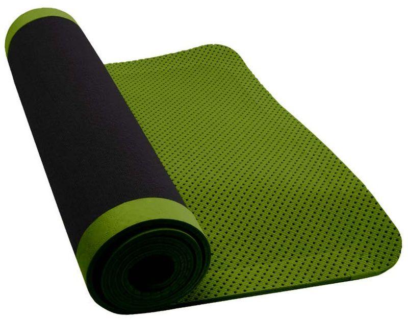 Коврик для йоги Nike Ultimate Yoga Mat 5mm, цвет: темно-серый, зеленыйN.YE.16.036.OSКоврик для йоги Nike- это современный, удобный и компактный аксессуар для занятий фитнесом и йогой в группах или домашних условиях. Нескользящая поверхность обеспечивает комфорт при выполнении упражнений. В процессе занятий коврик не растягивается и не теряет формы. Мягкая, бархатистая на ощупь поверхность коврика создает ощущение дополнительного комфорта и предотвращает скольжение рук и ног во время занятий. Прочный и упругий материал не растягивается, легко моется. Коврик компактный, хранится в свернутом виде. Шнурок для переноски обеспечивает комфортную транспортировку.Йога: все, что нужно начинающим и опытным практикам. Статья OZON Гид