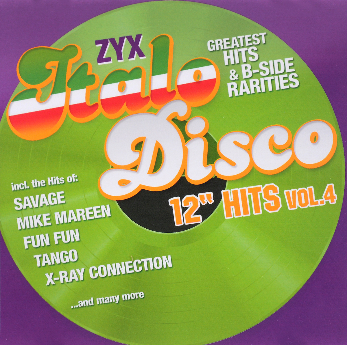 Fun Fun,Savage,Brando,Biba,X-Ray Connection,Майк Мэрин,Tango,Duke Lake,Patricia,Майк Роджерс,Flo Astaire Zyx Italo Disco 12 Hits Vol. 4 (2 CD) михаель бедфорд клифф тернер майк мэрин пэтти райан solid strangers джо локвуд italo disco collection 3 3 cd