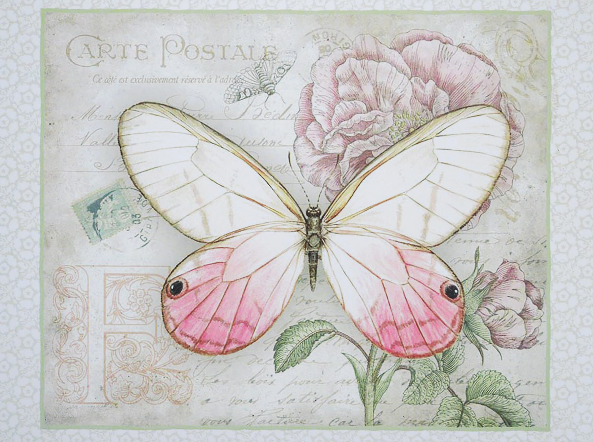 Картина-репродукция без рамки Magic Home Розовая бабочка, 30 х 40 см44492Картина-репродукция Magic Home Розовая бабочка дополнит интерьер любого помещения, а также может стать изысканным подарком для ваших друзей и близких. Картина изготовлена с помощью печати на прочном основании из МДФ. На задней стороне картины имеются две специальные выемки для подвешивания.Благодаря оригинальному дизайну картина может использоваться для оформления любых интерьеров. Такая картина - вдохновляющее декоративное решение, привносящее в интерьер нотки творчества и изысканности!