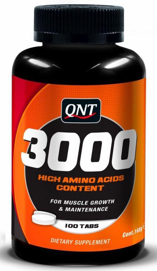 QNT Аминокислоты 3000, 100 таблеток пассат в3 купить в бресте