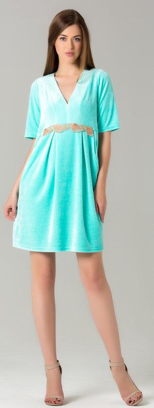 Платье Tesoro, цвет: мятный фреш. 416Пл5. Размер 46416Пл5