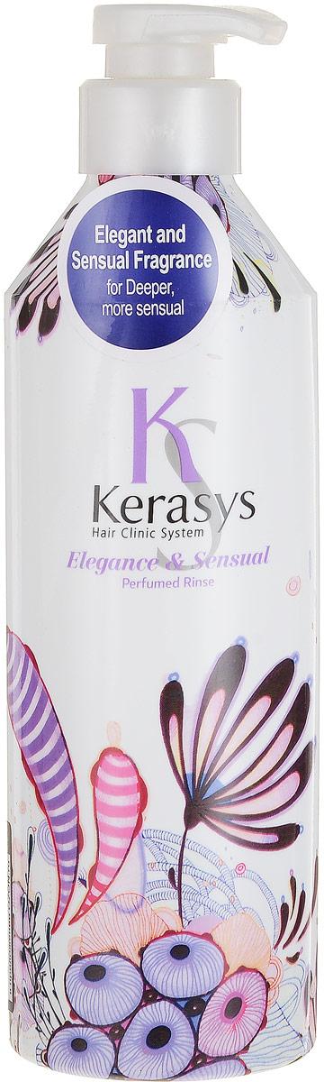 Kerasys Кондиционер для волос Perfumed. Элеганс, 600 мл992746Специально разработанная формула для тонких и ослабленных волос, укрепляет и восстанавливает структуру волос по всей длине. Волосы обретают жизненную силу, эластичность и объем. Содержит витамины А и Е, масло оливы и масло ши. Аромат изысканный и грациозный, с нотками лилового цвета для современной и утонченнойнатуры. Подчеркнет ваш стиль и элегантность. Характеристики:Объем: 600 мл. Артикул: 992746. Производитель: Корея. Товар сертифицирован.