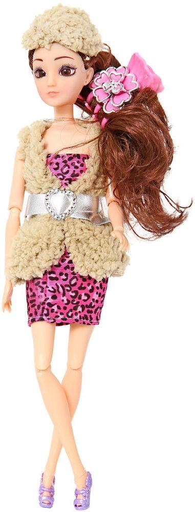 Veld-Co Кукла цвет одежды бежевый розовый veld co барабан цвет синий