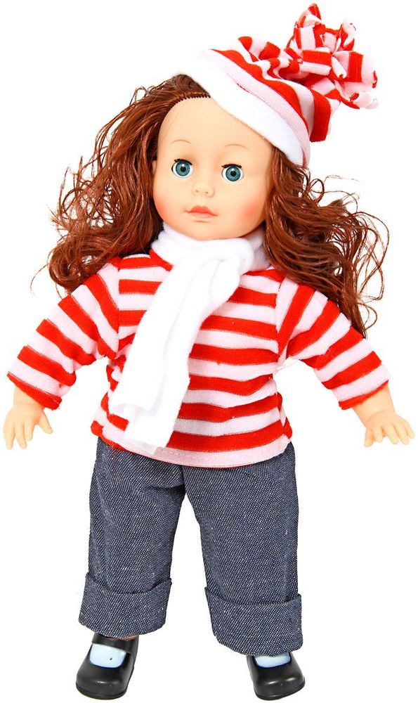 Veld-Co Кукла цвет одежды белый красный серый veld co кукла benigh girl цвет платья голубой