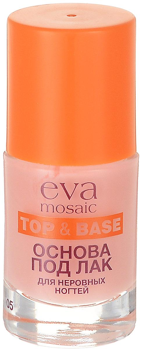 Eva Mosaic Основа под лак для неровных и волнистых ногтей, 10 мл мозаика elada mosaic cb512 327x327x4мм шоколадная 10 шт