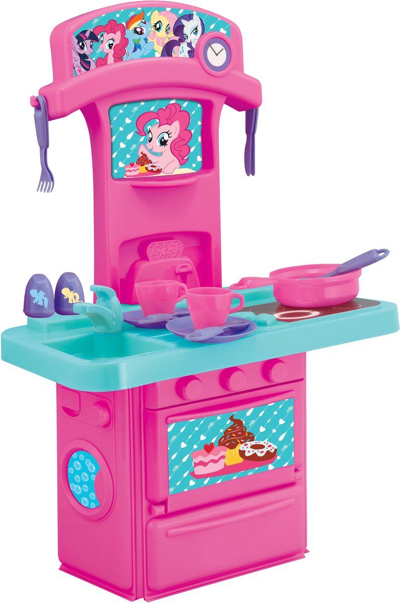 HTI Мини-кухня My Little Pony машинки hti паровозик roadsterz синий с вагоном звуковыми и световыми эффектами