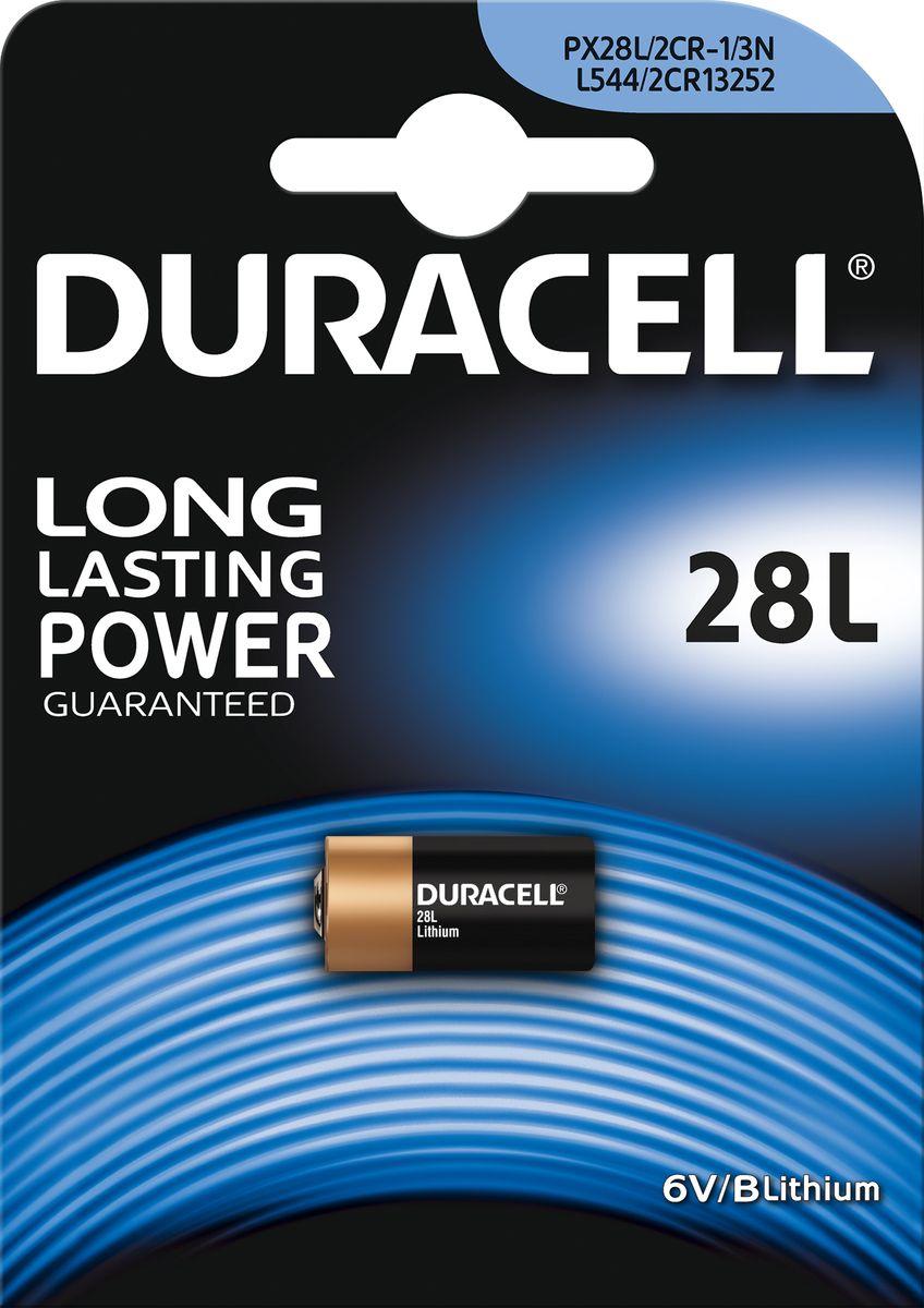 Батарейка литиевая Duracell L2881476820Доверьтесь долговечным специальным литиевым батарейкам Duracell 28L для цифровых фотоаппаратов и вспышек, портативных фонариков, медицинских устройств (портативного анализатора О2), устройств обеспечения безопасности (электронного замка) и другой электроники (лазерных указок, микрофонов, устройств ночного видения). Технология Duralock обеспечивает сохранность заряда вплоть до 10 лет при надлежащем хранении. Характеристики литиевых элементов питания:- высокая мощность, что позволяет использовать их для фототехники;- более высокое напряжение, чем источники тока других электрохимических систем (3В);- низкий уровень саморазряда; -- длительный срок хранения (10 лет);- широкий диапазон рабочих температур.Не разбирать, не перезаряжать, не подносить к открытому огню. Не устанавливать одновременно новые и использованные батарейки, а также батарейки различных марок, систем и типов. При установке соблюдать полярность (+/-). Хранить в недоступном для детей месте.